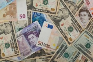 various currencies